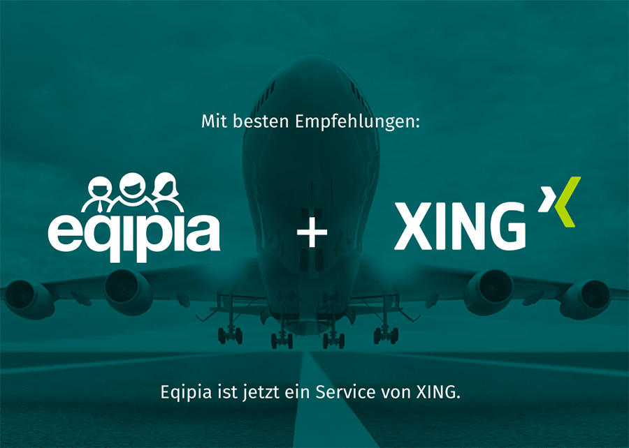 Eqipia ist jetzt Teil von Xing